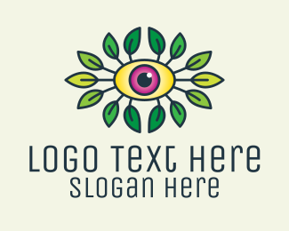 Health - Organic Eye Health logo design