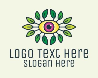 Zen - Organic Eye Health logo design