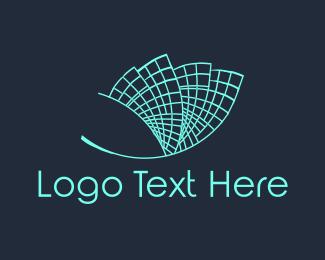 Skyscraper - Building Grid logo design