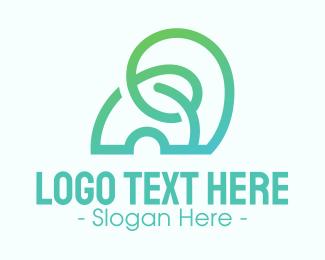 Gradient - Modern Abstract Gradient Elephant logo design
