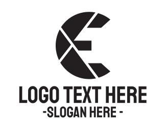 Letter - Lens Letter logo design