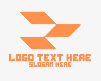 Squares - Orange Gaming Clan logo design