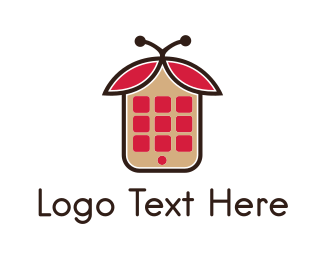 Social Media - App Bug  logo design