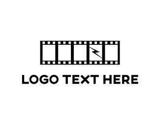 Theater - Reel & Thunder logo design