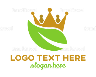 Monarchy - Nature Monarchy  logo design