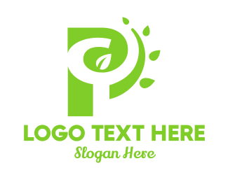 Outdoors - P Nature logo design