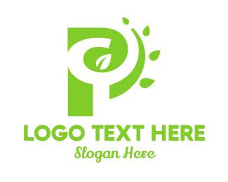 Project - P Nature logo design