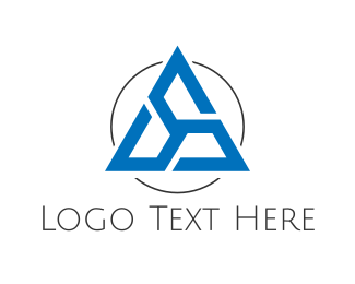 Turbine - Triangular Turbine logo design