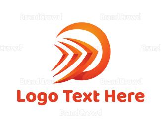 Move - Orange Forward  logo design