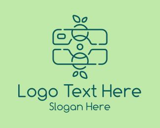 Editing - Green Fruit Camera logo design