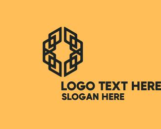 Framing - Modern Letter O Business logo design