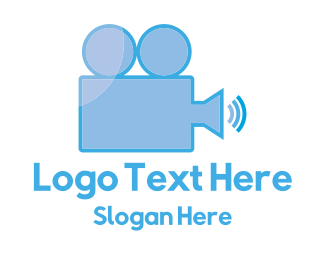 Movie Production - Loud Movies logo design