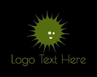 Explosion - Green Burst logo design