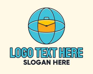 Briefcase - Global Briefcase logo design