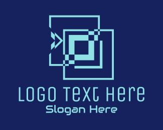 Digital Media - Square Social Media logo design