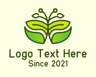 Tree - Fancy Flower Plant logo design