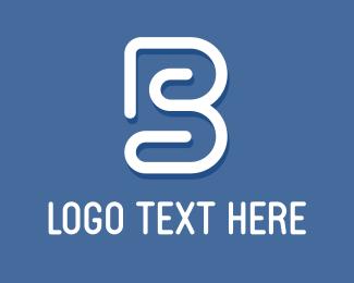 Swirly - Swirly B logo design