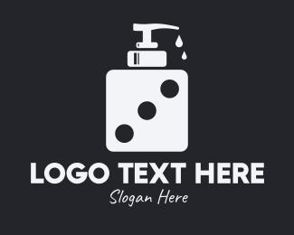 Dice - Dice Liquid Soap logo design