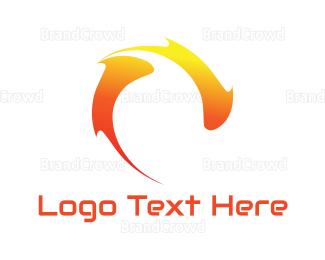 Fire - Fire Burst logo design