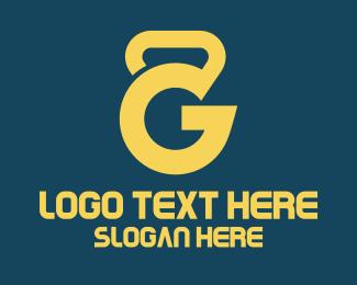 Kettlebell Letter G Logo