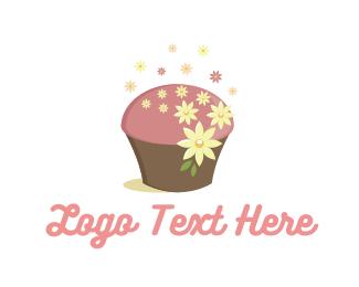 Chef - Cute Cupcake logo design
