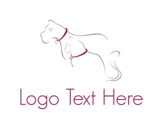 Shelter - Cat & Dog  logo design