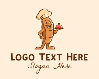 Bakery - Baker Bread Bun  logo design