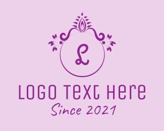 Ornamental - Victorian Ornament Lettermark logo design