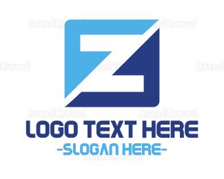 Lettermark Z - Modern Z logo design