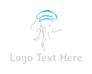 Hat - Elephant Hat logo design
