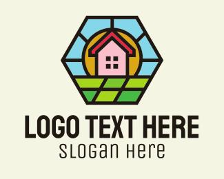Landscaping - House Landscape Horizon logo design
