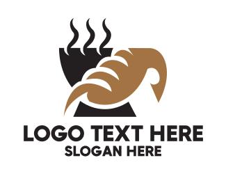 Brand - Coffee & Bread logo design