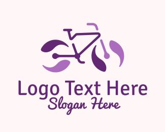 """Purple Bicycle Marble"" by SimplePixelSL"