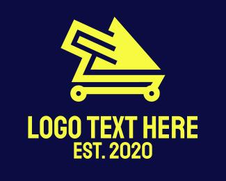 Online Shopping - Online Shopping Cart logo design