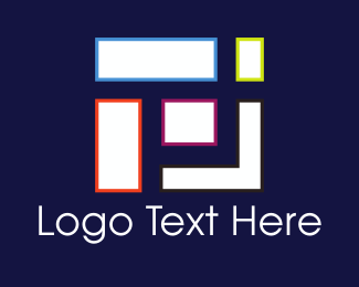 Rectangular - Geometric Shapes logo design