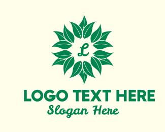 Leafy - Leafy Plant Lettermark logo design