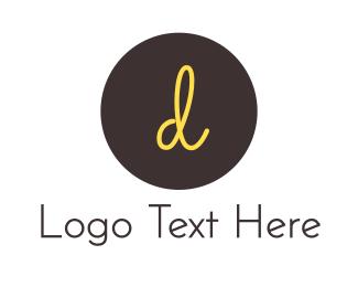 Jewelery - D Circle logo design