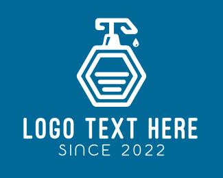 Soap - Liquid Soap Bottle logo design
