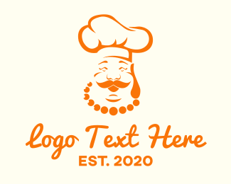 Good - Happy Chef Restaurant logo design