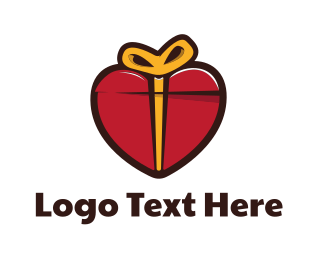 Solution - Gift Heart logo design