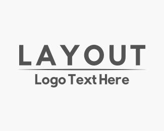 Gray Minimalist Logo