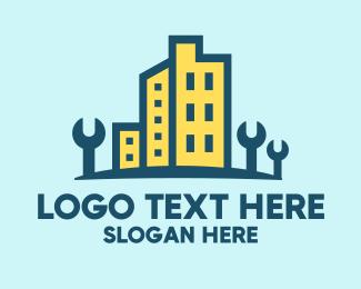 Property - Builder Property Maintenance logo design
