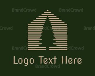 Carpenter - Pine House logo design