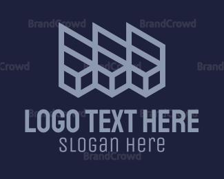 Move - Red Boxes logo design