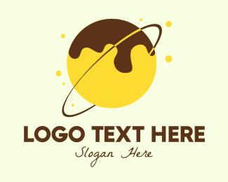 Sugar - Takoyaki Donut Planet logo design