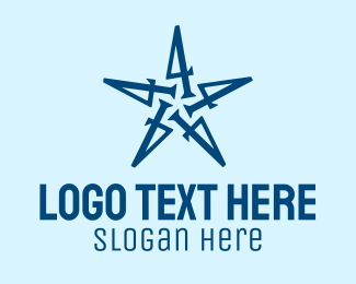 4 - Number 4 Star Company  logo design