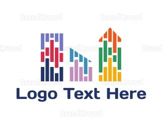 Cuba - Colorful City logo design