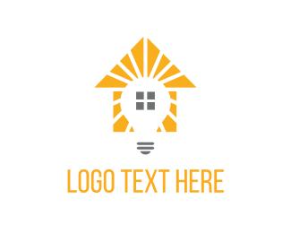 Illumination - House Light logo design