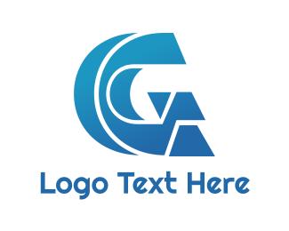 Hardware - Abstract Blue G logo design