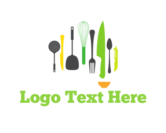 Cook - Kitchen Tools logo design